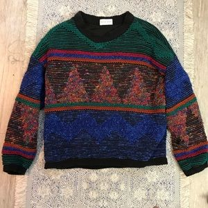 Funky Sweater with Triangle Design